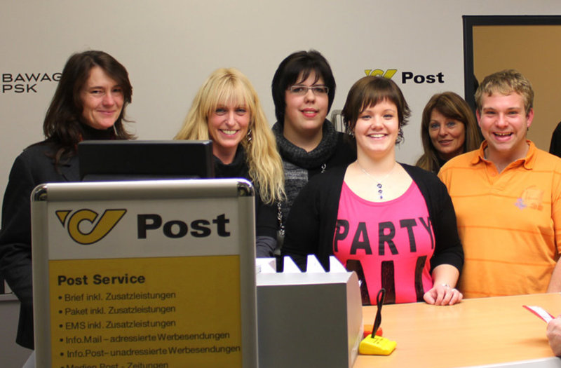 Unser Postpartner-Team